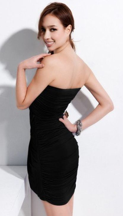 amazing black clubwear dress