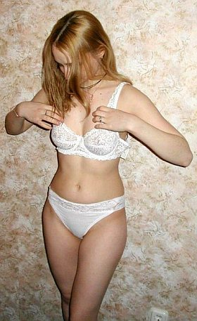 White embroidered wired bras with matching bikini bottom Underwear lingerie