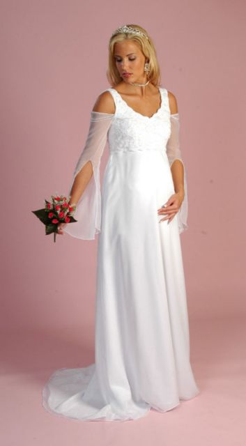 Maternity Wedding Gown-Tank Bodice